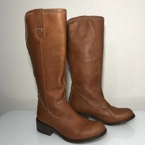 Patron By Perugia boots womens Leather Size 6